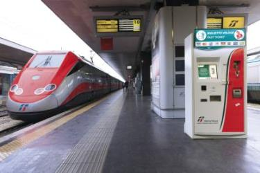 TrenItalia Ticket Machine